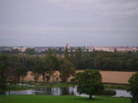 Doncaster Skyline home to Eddie Todd.
