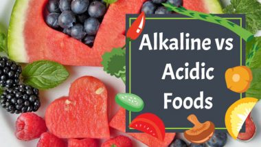 "Image text: ""Alkaline vs acidic foods""."
