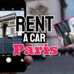 """Featured image which bears the text: """"Rent a car Paris""""."""