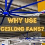 """Image text: """"Why use ceiling fans?"""""""
