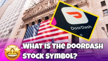 "Image text: ""What is the Doordash Stock Symbol?"""