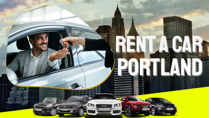 "Image text: ""Rent a Car Portland""."