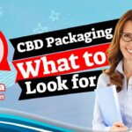"""Featured Image with text; CBD Packaging What to look Out for""""."""
