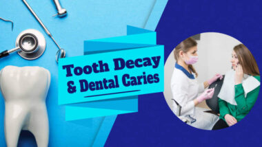 Female dentist in Sterling, Va. Treating female dental patient with tooth decay pain