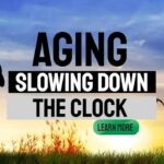 """Featrured image: """"Aging - Slowing down the clock""""."""