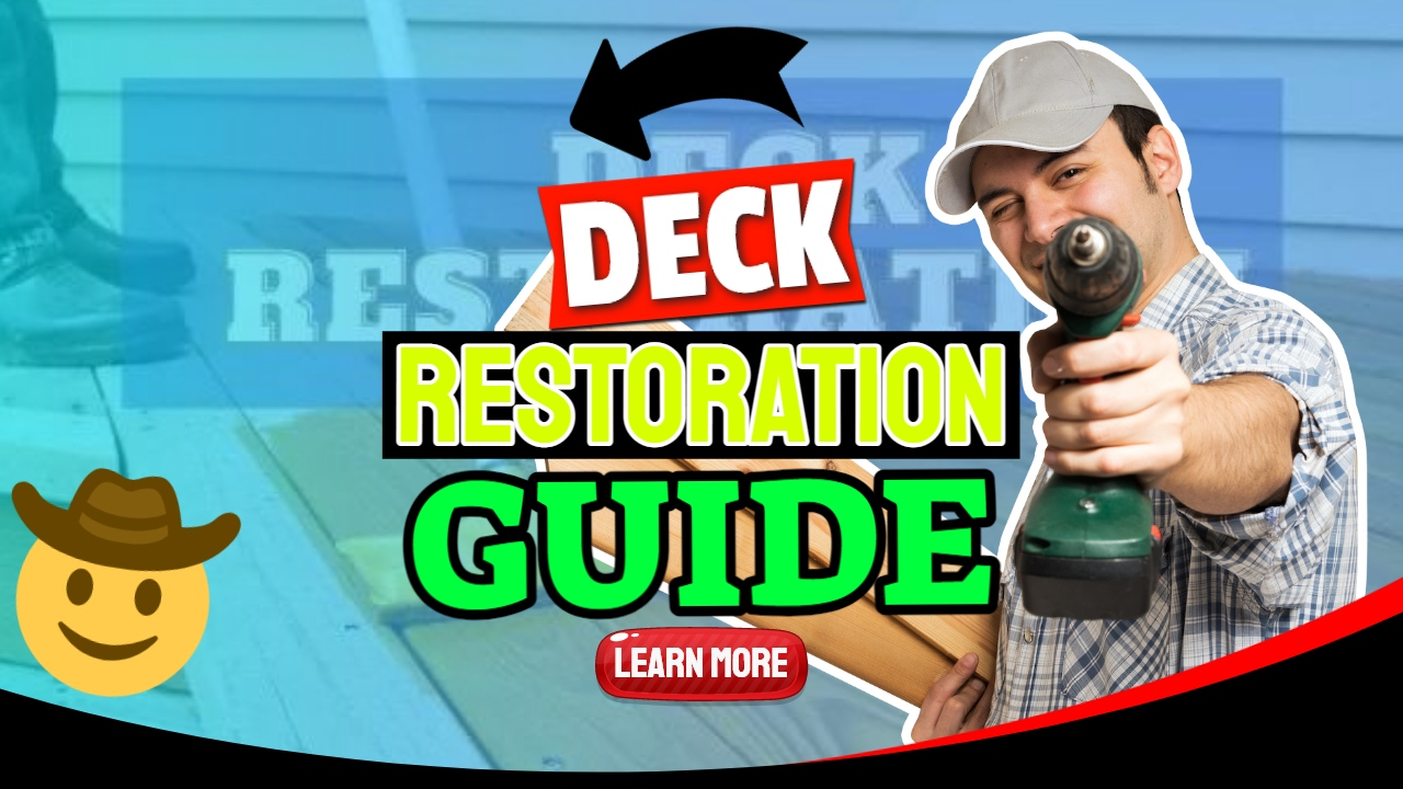 "Featured image text: ""Deck restoration guide""."