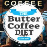 """Image text: """"The Butter Coffee Diet""""."""